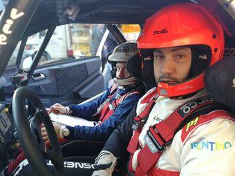 Gianluca Saresera Manuel Fenoli (Peugeot 208 R2B Leonessa Corse #38), CAMPIONATO ITALIANO WRC